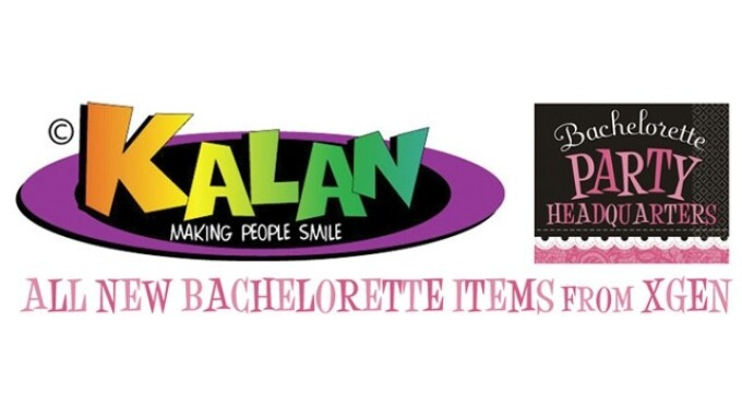 Xgen Products Now Shipping Kalan Gifts' Bachelorette Items