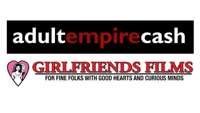 Adult Empire Cash, Girlfriends Films Partner for Retail Store