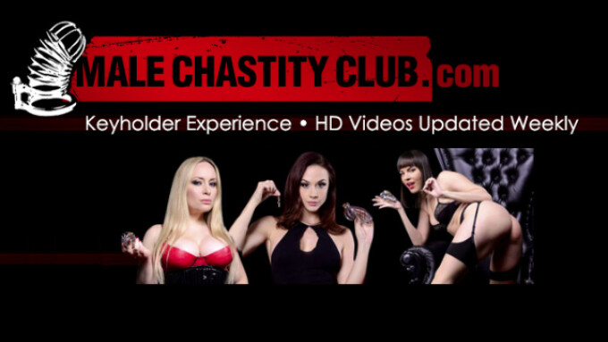 Extreme Restraints Teams With Aiden Starr, Ian Rath to Launch MaleChastityClub.com