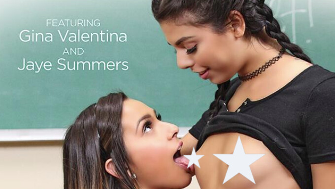 Airerose Debuts 'Lesbian Schoolgirls'