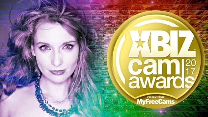 Ela Darling to Host 2017 XBIZ Cam Awards Red Carpet