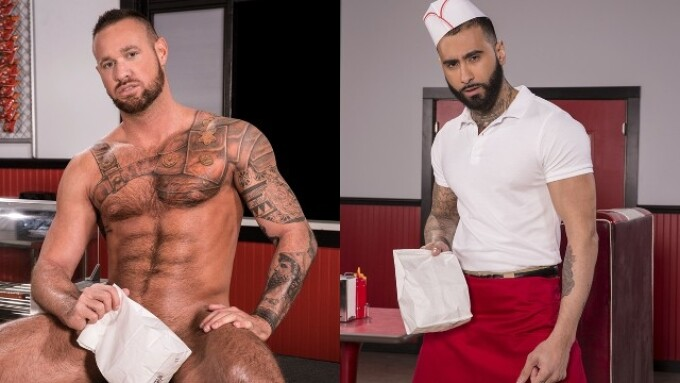 Raging Stallion Debuting 1st Scene From 'Drive Thru' on Friday