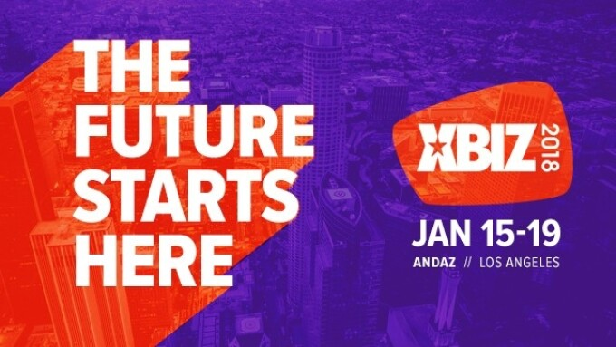 XBIZ 2018 Show Returns to Andaz in January
