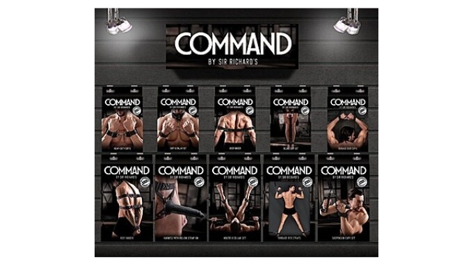 Sir Richard's Now Shipping 'Command' Bondage Gear