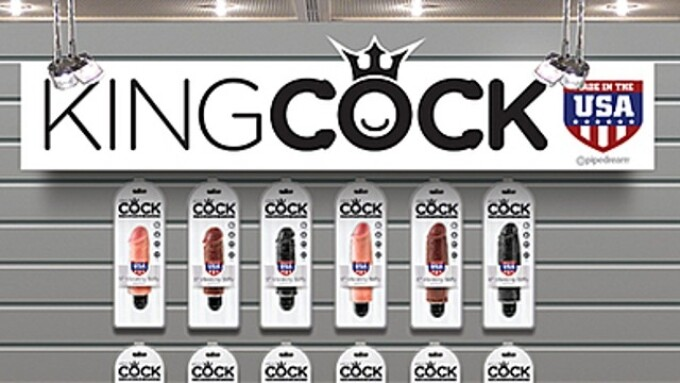 Pipedream's King Cock Vibrating Stiffies Now Shipping