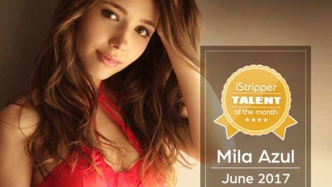 iStripper Offers Monthly Talent Contest, Names Mila Azul 'Talent of the Month'