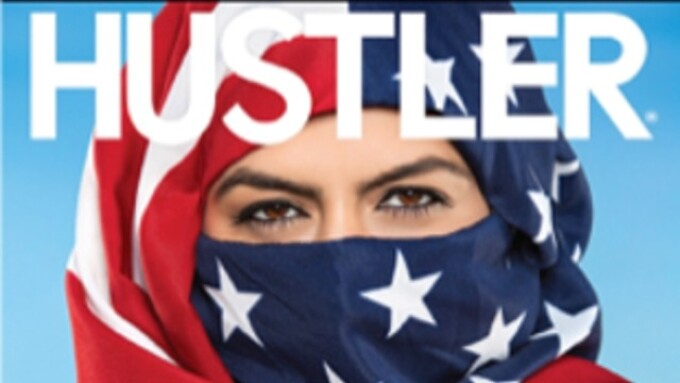 Hustler's 43rd Anniversary Issue Puts 'Freedom First'