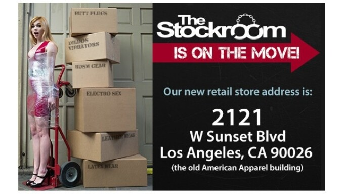 Stockroom Announces New Store Location
