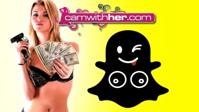 SNR Offers CamWithHer Model Snapchat Subscriptions