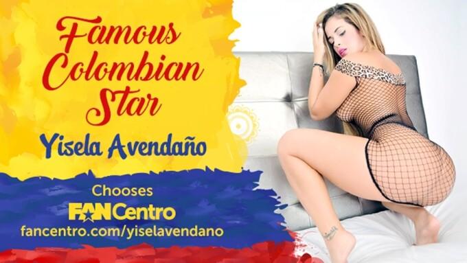 Yisela Avendaño Is Latest Model on FanCentro
