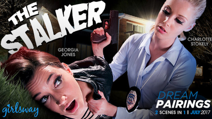 Girlsway Unveils 'The Stalker,' Starring Georgia Jones