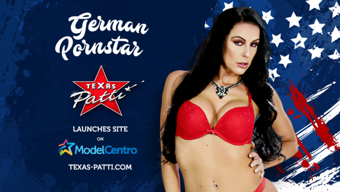 German Star Texas Patti Joins ModelCentro, FanCentro, MCProfits