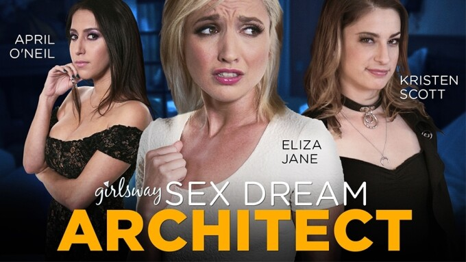 Girlsway to Debut 1st Scene From 'Sex Dream Architect'