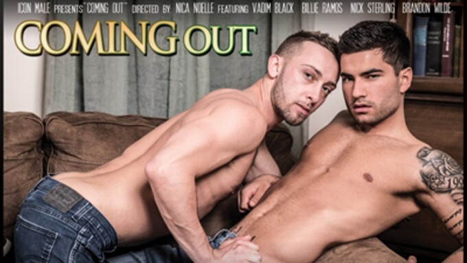 Icon Male Explores 'Coming Out' in New Title