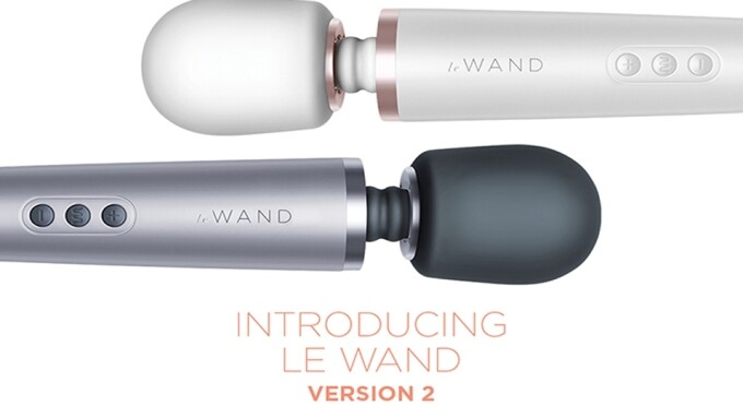 Le Wand Rolls Out New, Improved Massager