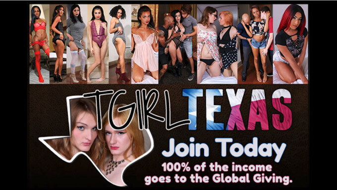 Grooby's TGirlTexas.com to Raise Money for Houston Hurricane Relief