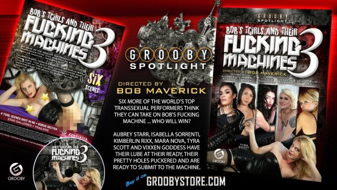 Grooby Releases New 'Bob's TGirls' Title