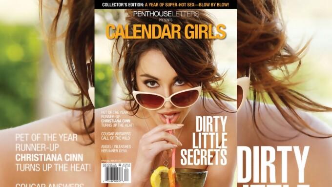 Penthouse Letters Unveils Special 'Calendar Girls' Edition