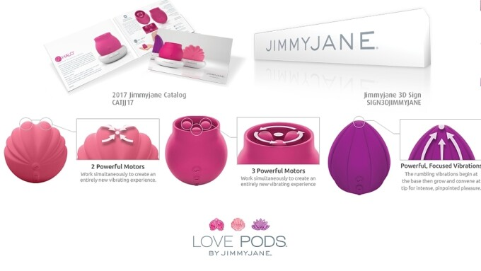 Jimmyjane Unveils 'Love Pods' Clitoral Stimulators