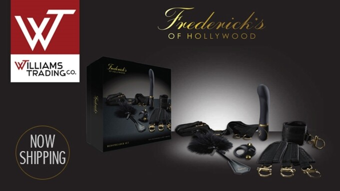Williams Trading Now Shipping Frederick's of Hollywood