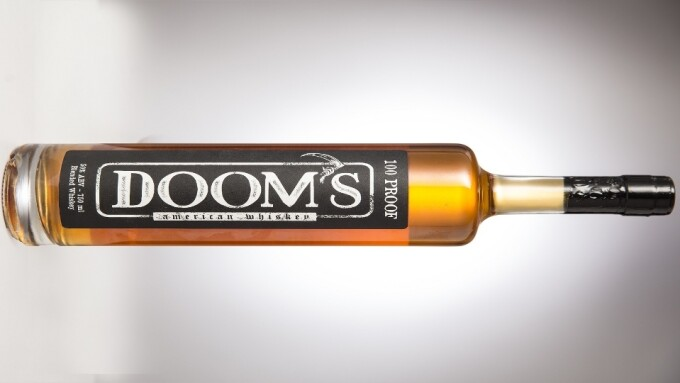 Joanna Angel, Small Hands Unveil Doom's Rye Whiskey