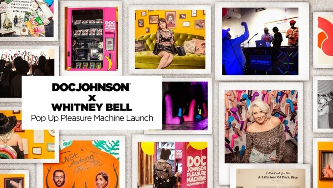 Doc Johnson's 'Pop Up Pleasure Machine' Launches in DTLA