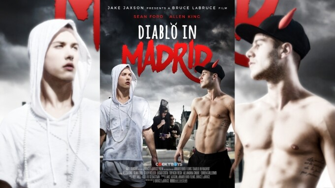 Jake Jaxson, Bruce LaBruce Team Up for CockyBoys' 'Diablo in Madrid'