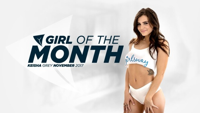Keisha Grey Named Girlsway Girl of the Month