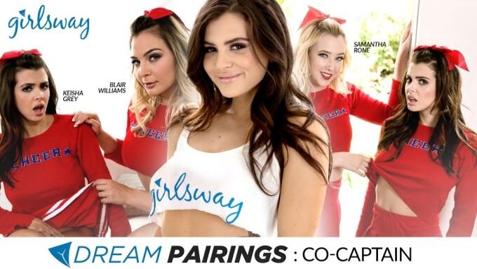 Girlsway Presents Keisha Grey's 'Dream Pairings' Scene