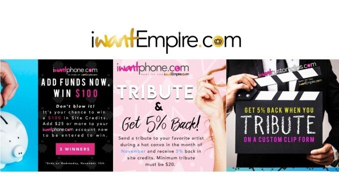 iWantEmpire Shows Its Appreciation With November Promos