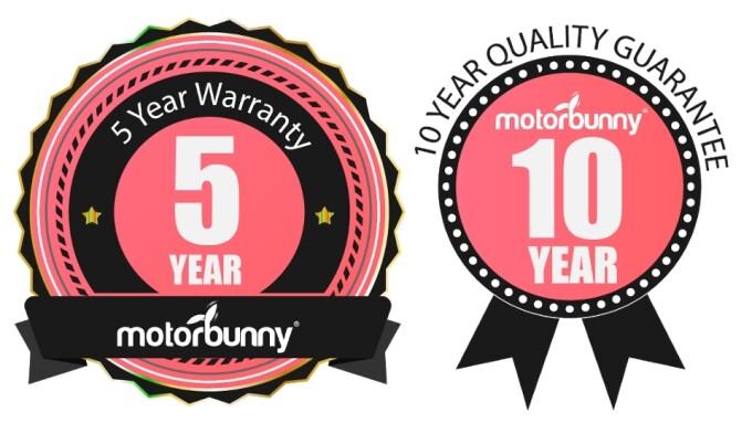 Motorbunny Rolls Out 5-Year Warranty, 10-Year Quality Guarantee