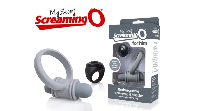 Screaming O Introduces 'Secret Remote Control Bullet, Ring for Him'