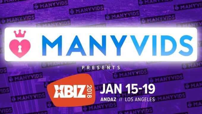 ManyVids Named Presenting Sponsor of 2018 XBIZ Show