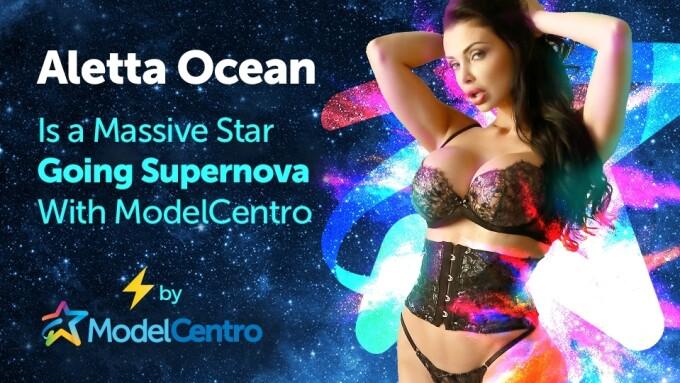 ModelCentro: Aletta Ocean Is a 'Massive Star Going Supernova'