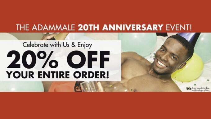 AdamMale Celebrates 20th Anniversary