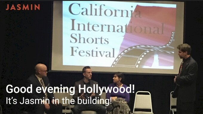 Jasmin Makes Hollywood Film Festival Debut