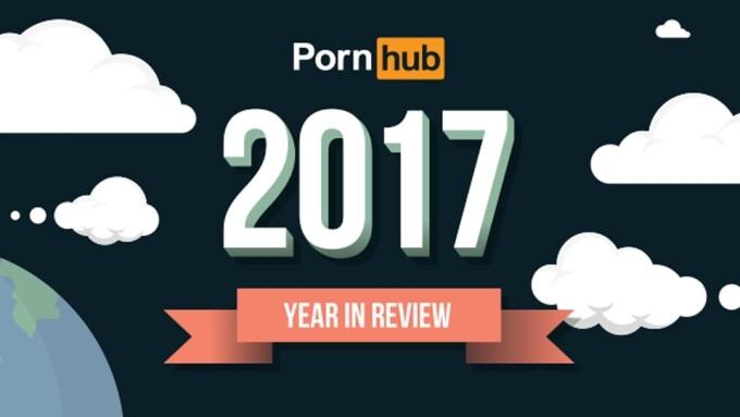 PornHub Unloads Massive 2017 'Year in Review'