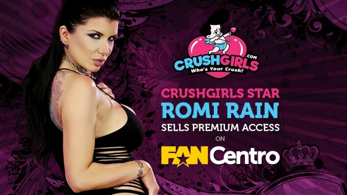 Romi Rain Brings 500K Followers to New FanCentro Profile