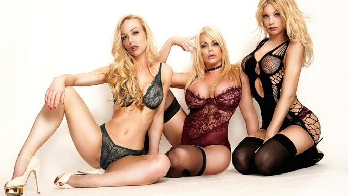 Kayden Kross, Jesse Jane, Riley Steele Star in TrenchcoatX's 'Outro'