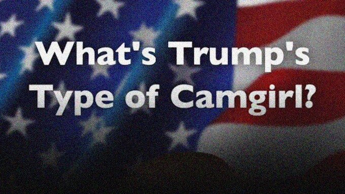 Stripchat Polls Fans on President Trump's Favorite Type of Cam Girl