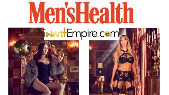 iWantEmpire's Bratty Nikki, Jenna Sativa in Men's Health Mag