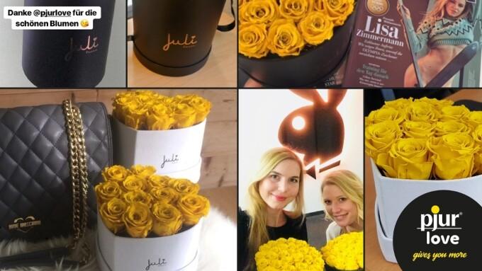 pjur Reports Succesful Valentine's Day Campaign