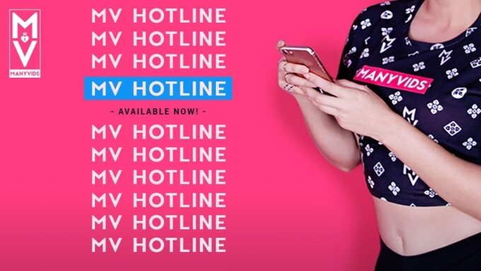 ManyVids Launches Confidential Crisis Hotline