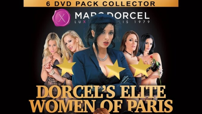 Anna Polina, Clare Castel Star in 'Dorcel's Elite Women of Paris'