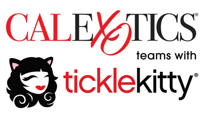 Tickle Kitty's Dr. Sadie Takes CalExotics Product on the Road