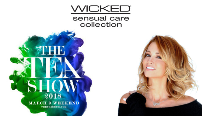 Wicked Sensual Care, Jessica Drake Sponsor TEA Show