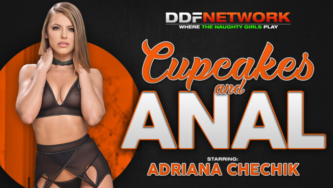 Adriana Chechik Makes DDF Network Debut in 'Cupcakes & Anal'