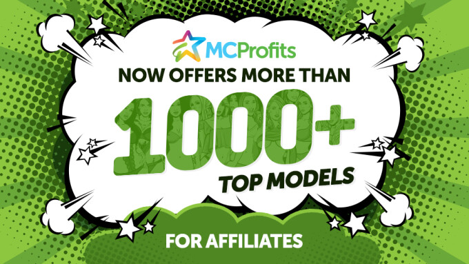 MCProfits Now Offers More Than 1,000 Models for Affiliates