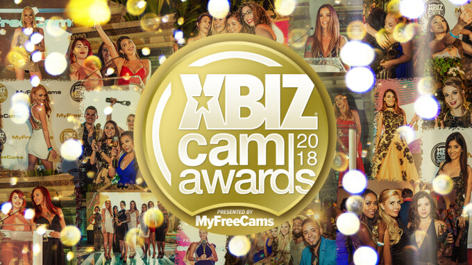 XBIZ Cam Awards Pre-Nom Period Ends Monday