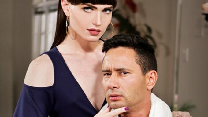 Natalie Mars Plays 'TS Stepmom' in New TransSensual Title